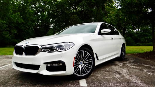CNBC Tech: BMW 530i 1
