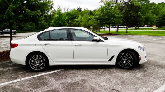 CNBC Tech: BMW 530i 2