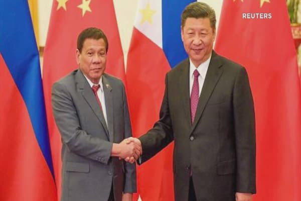 South China Sea concerns flare up as Duterte considers drilling in Beijing's claims