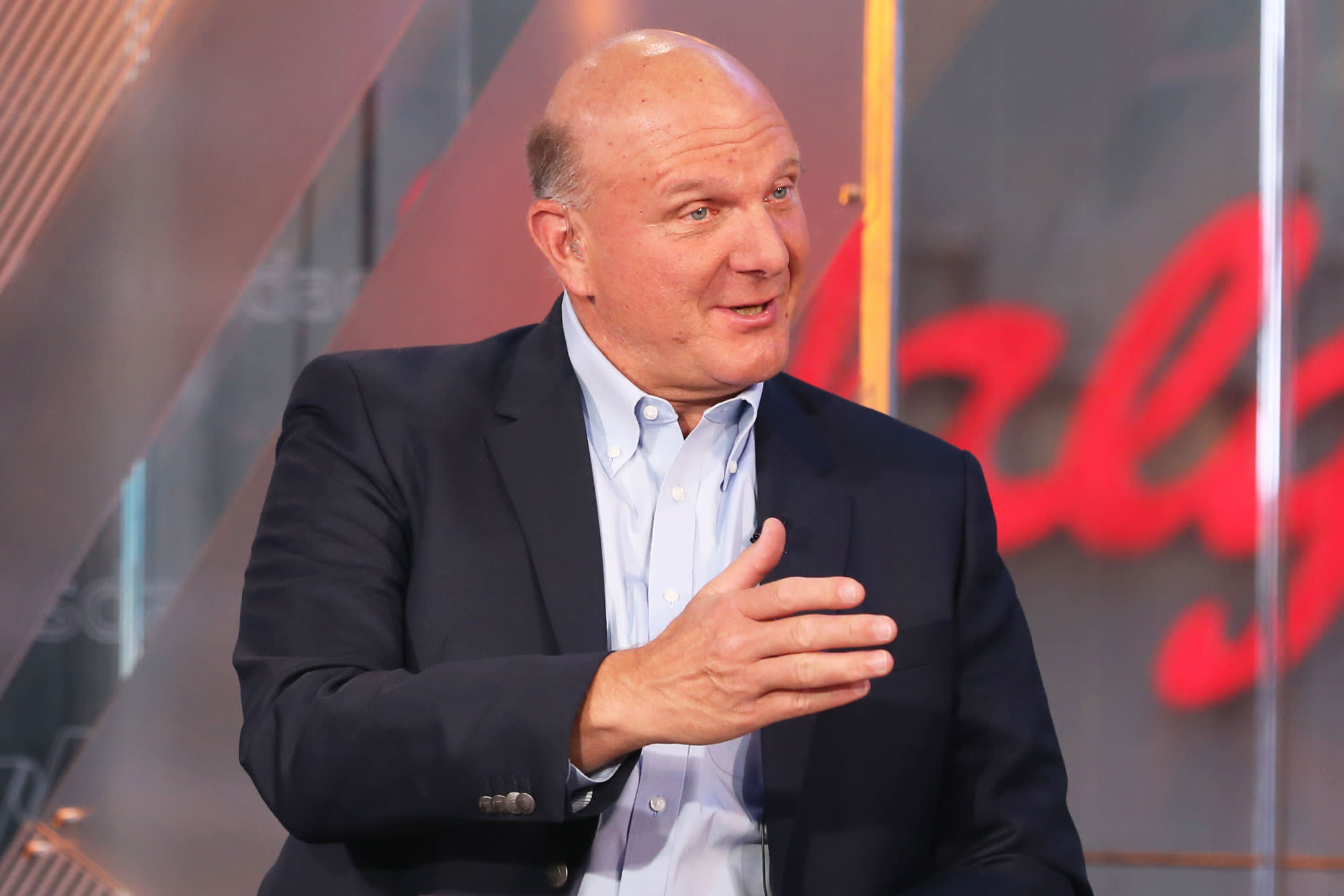 billionaire steve ballmer started out making only 50 000 at microsoft