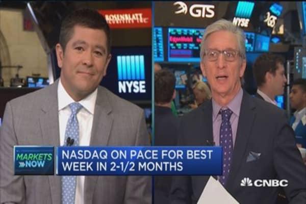 Markets open slightly higher on choppy economic data
