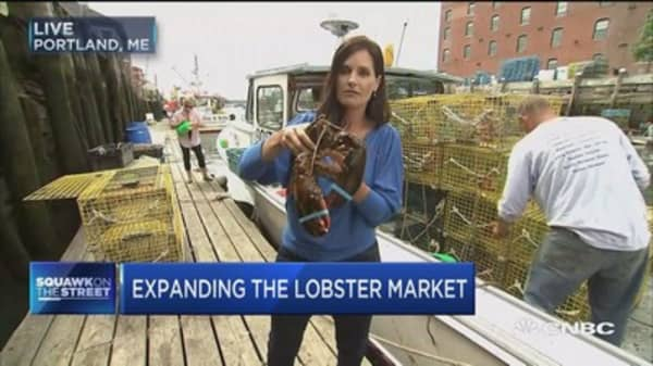 Booming demand in China boosts US lobster fishers