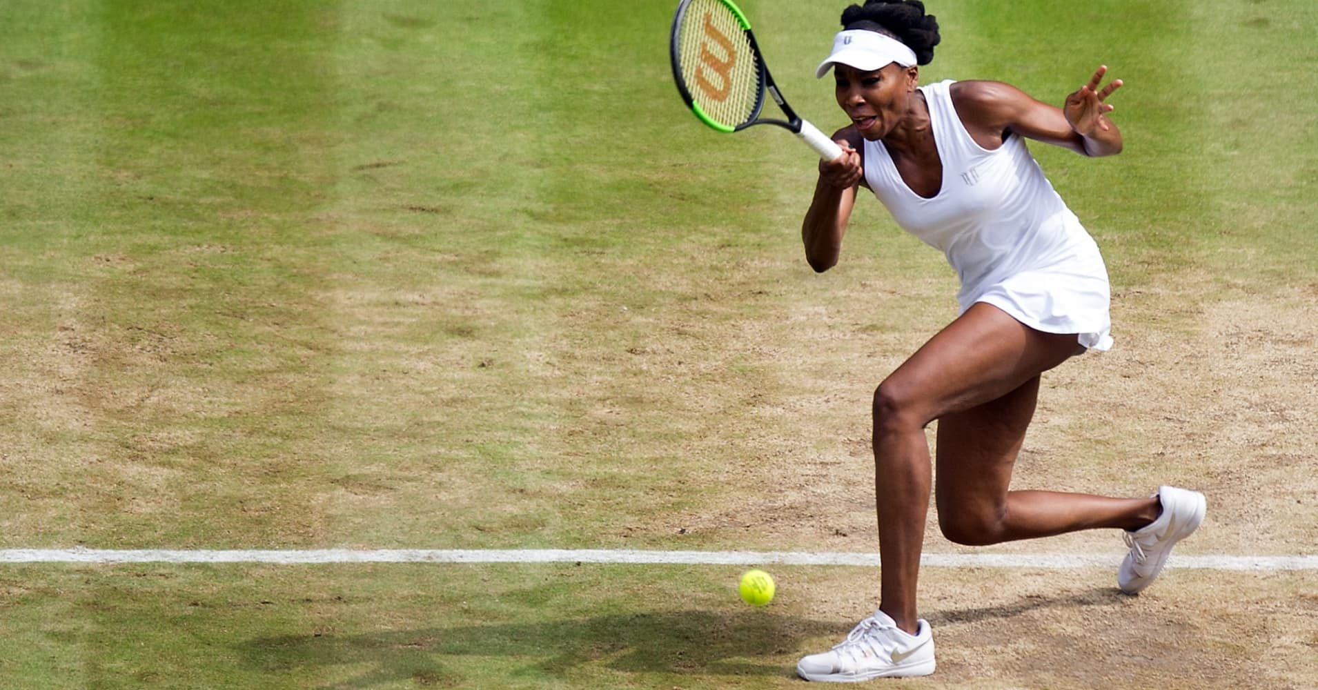 Venus Williams at Wimbledon this year