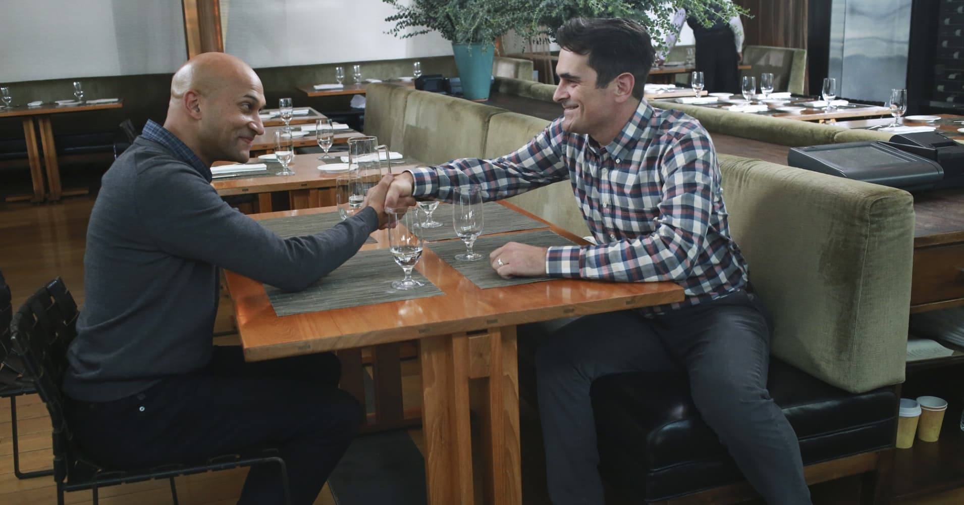 Keegan-Michael Key and Ty Burrell star in popular sitcom Modern Family