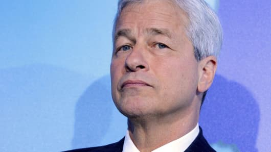 Jamie Dimon, chief executive officer of JPMorgan Chase & Co