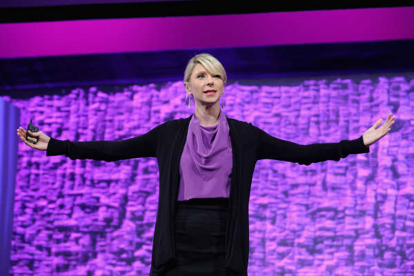 Social psychologist Amy Cuddy