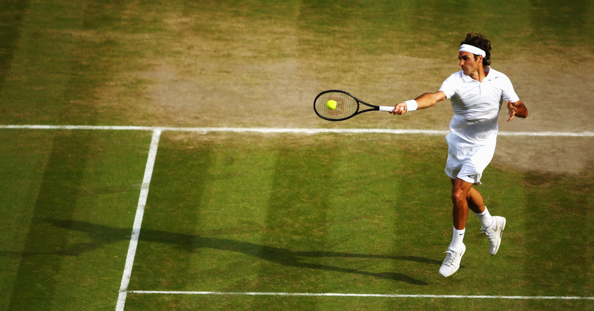18-time Grand Slam champion Roger Federer