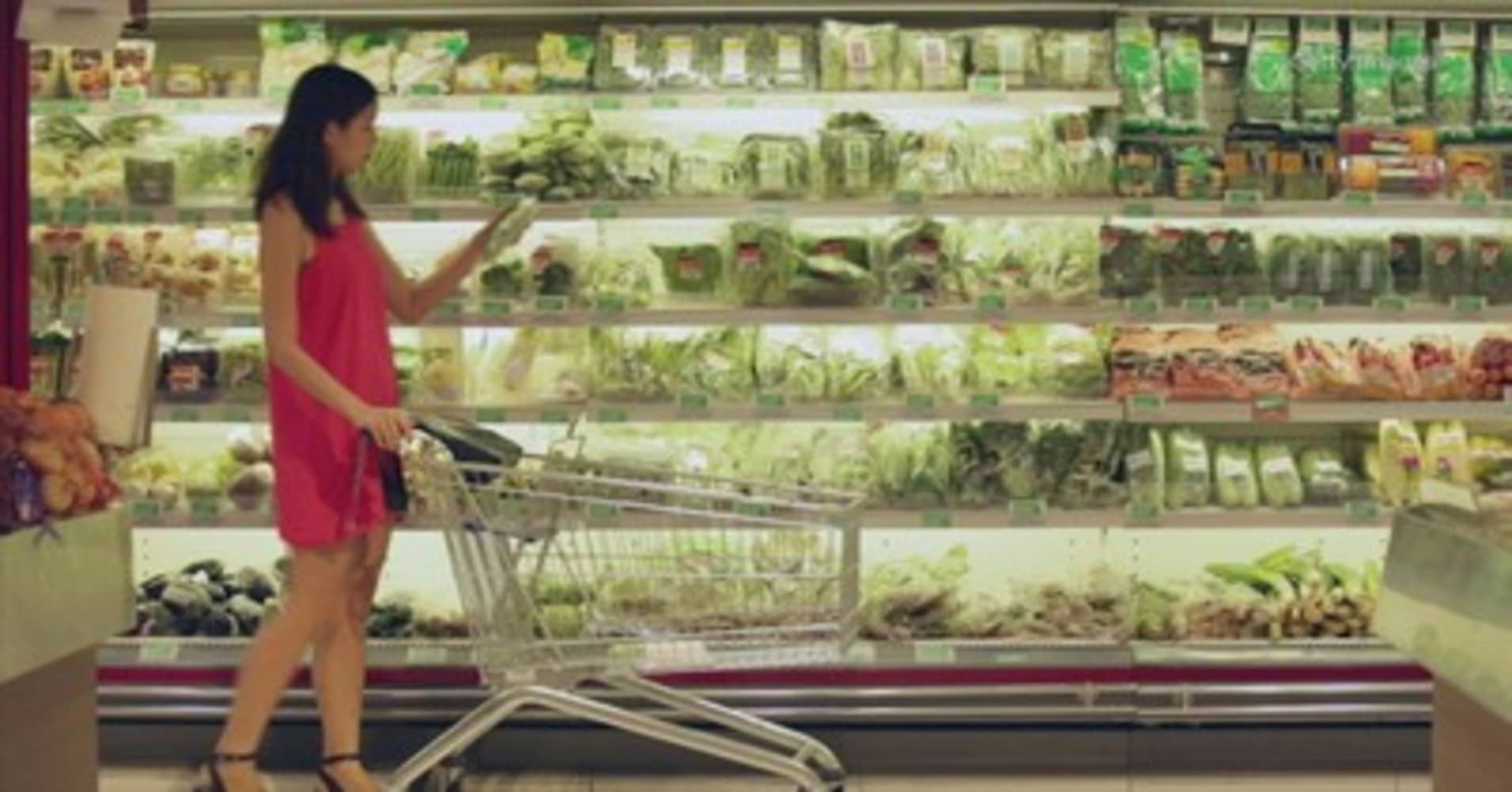 Big food companies are trying to reverse the curse of the center aisle