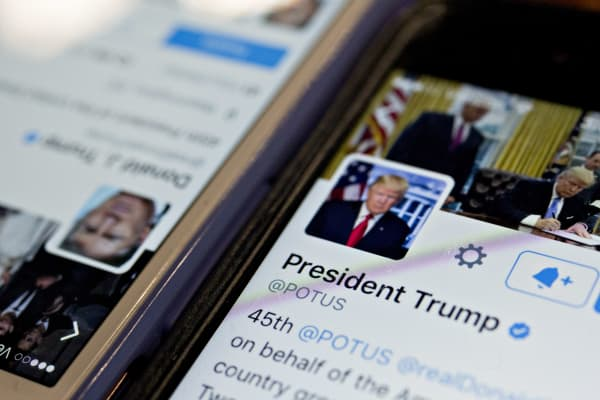 Marcus Lemonis gives President Donald Trump pointers on how to use Twitter