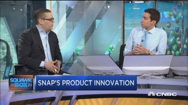 Drexel's Brian White: Snap presents great buying opportunity here