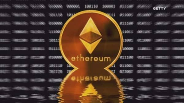 Ethereum briefly crashes 20% to 7-week low amid worries about rival bitcoin's future
