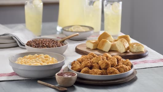 "Chick-fil-A's ""Family Style Meals"" are being tested in three cities through Nov. 18"