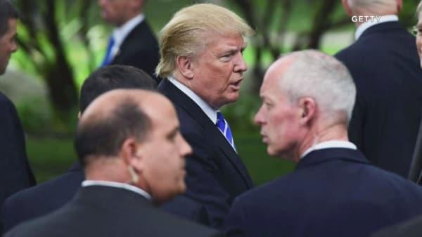 Secret Service denies vetting Trump Jr meeting