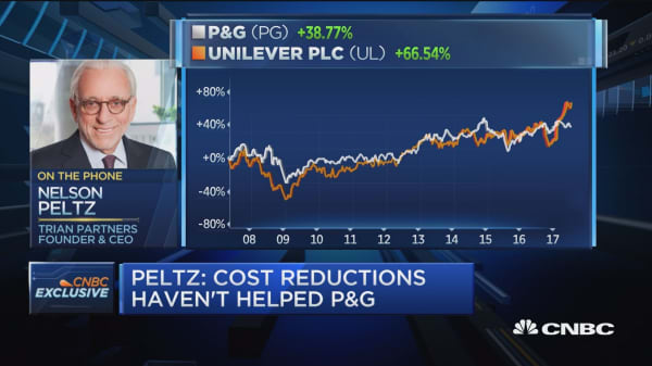 Billionaire activist Nelson Peltz blasts P&G for letting online shave clubs obliterate Gillette