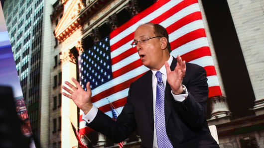 Larry Fink, chief executive officer of BlackRock Inc.