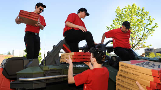 Pizza Hut doubling down on delivery
