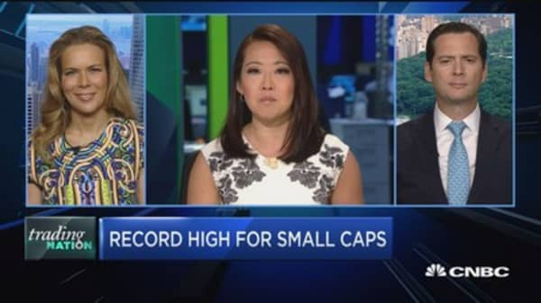 Trading Nation: Record high for small caps