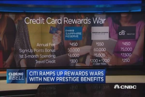 Citi ramps up rewards wars with new Prestige benefits