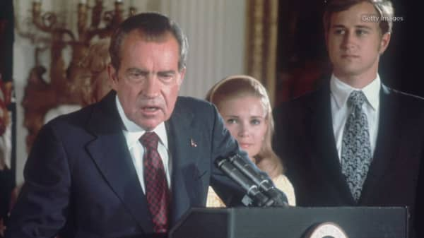 Trump's impeachment is more favorable than Nixon's