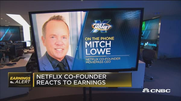 Netflix Co-founder Mitch Lowe reacts to the company's second quarter results