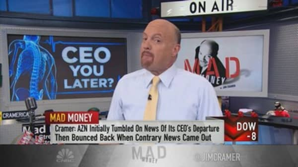 CEO departures not always bad for companies: Cramer