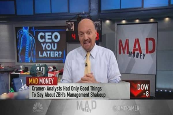 Cramer explains why CEO departures are not always bad for companies