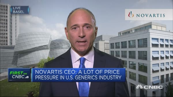 Continuing to innovate, launch new drugs in US: Novartis CEO