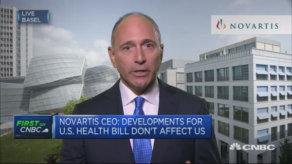 Our M&A strategy focused on bolt-on acquisitions: Novartis CEO