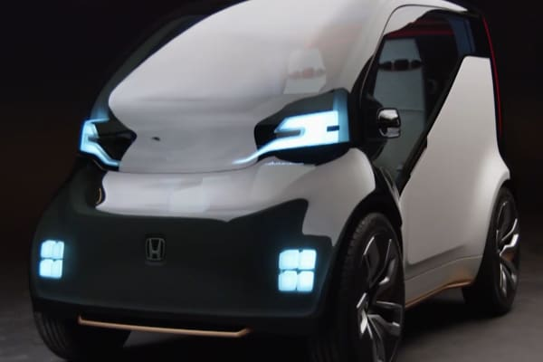 Honda's futuristic concept car has artificial intelligence and wants to know how you're feeling