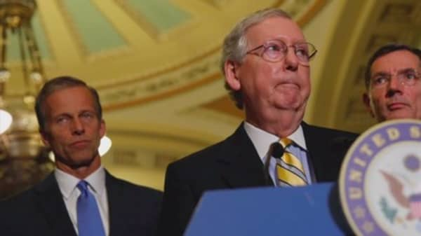 GOP gives up on replacing Obamacare now: McConnell and Trump call for simply repealing