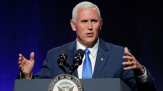 Pence pledges to move U.S.  embassy to Jerusalem