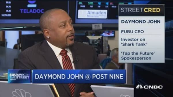 Daymond John on finding the entrepreneurs of tomorrow at 'Tap the Future'