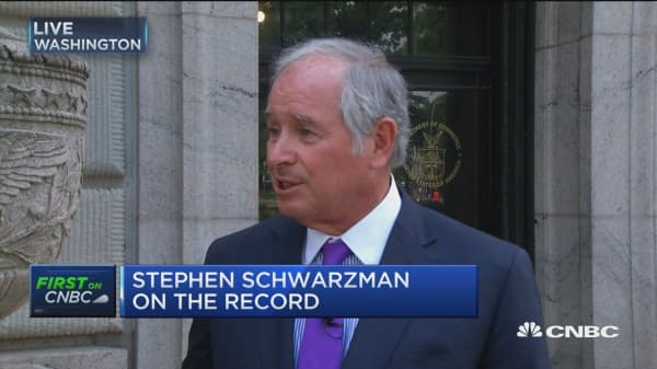 Very few Americans are proud of political system: Blackstone's CEO Schwarzman