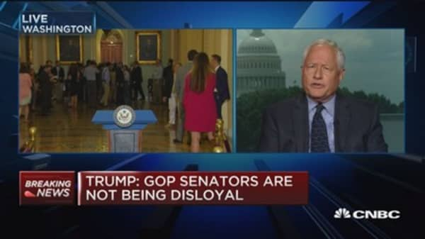 Trump will go into August recess without legislation: Bill Kristol