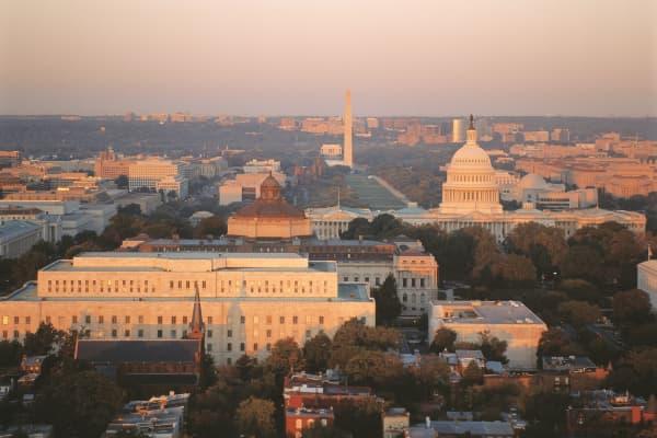 Skyline of Washington, D.C.