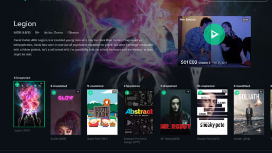The slick, Netflix-like homepage of Reelgood.com, a new streaming aggregator.