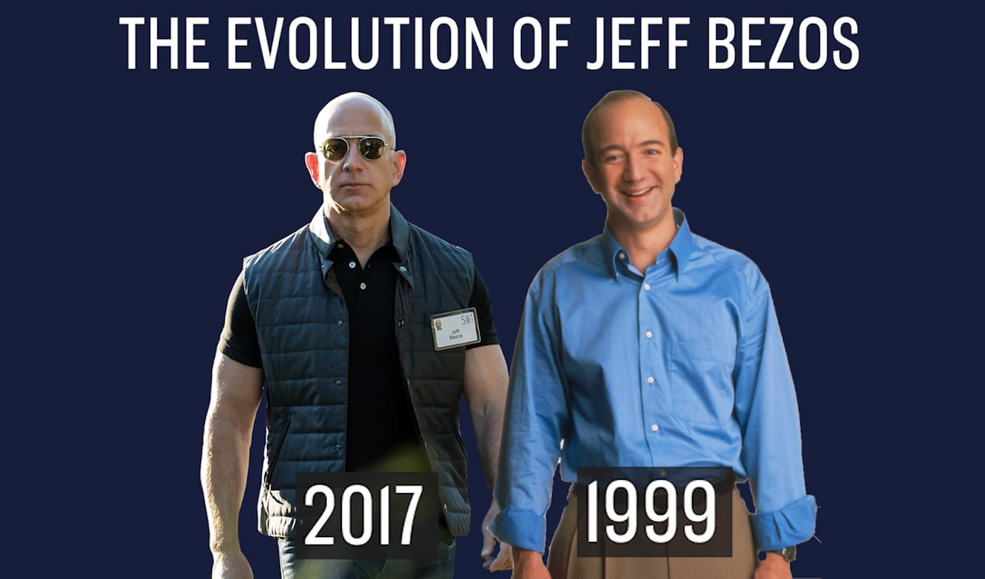 Amazon S Jeff Bezos Son Of A Teen Mom To Richest Person In The World