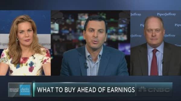 The stocks to buy ahead of earnings