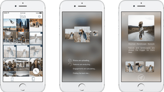Lisa is a machine learning powered photo app