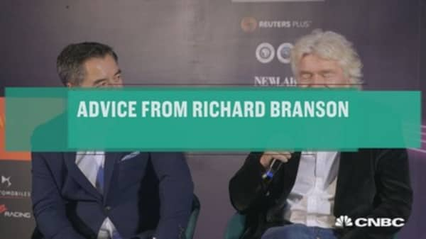 Advice from Richard Branson