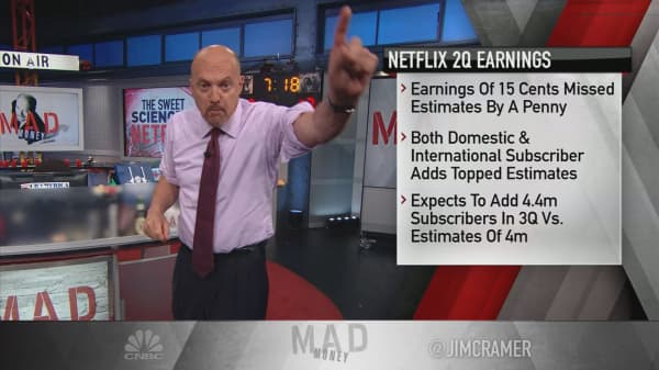 cramer pinpoints the key strategy driving netflix u0026 39 s