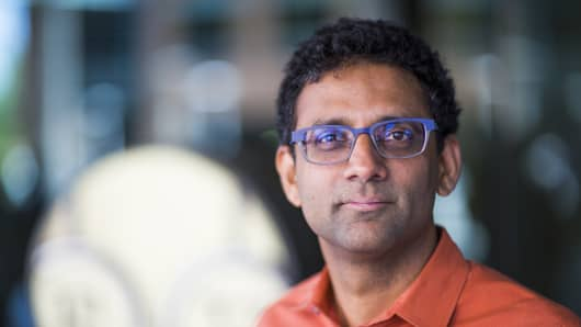 Ben Gomes, Vice President of Search Engineering at Google, at the Googleplex campus in Mountain View.