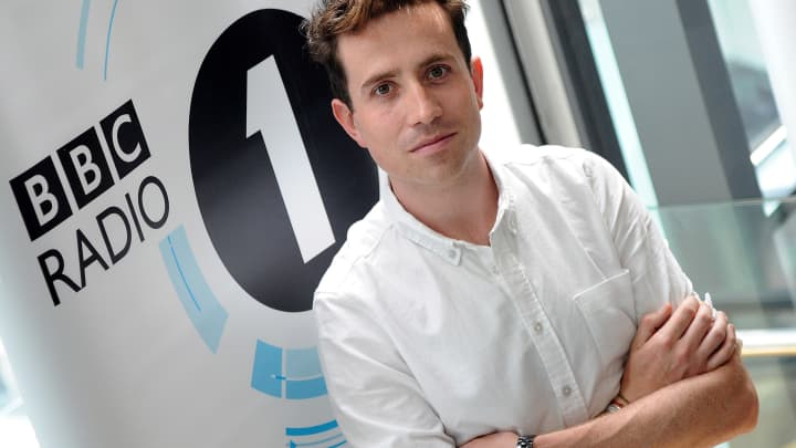 Nick Grimshaw is announced as the new presenter of Radio 1's Breakfast Show from the end of September at BBC Broadcasting House on July 11, 2012 in London, England.