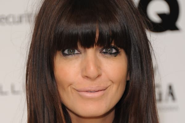 Claudia Winkleman arrives for the GQ 25th Anniversary Exhibition at Phillips De Pury on November 12, 2013 in London, England.