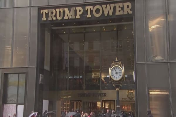 US military reportedly paying $130,000 a month to lease space in Trump Tower