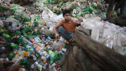Humans have produced 8.3 billion tonnes of plastic, researchers say