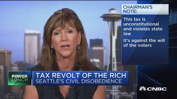 Washington GOP Chair: Seattle tax is a farce