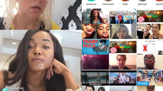 Recactus is a live reaction social video app