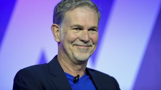 Netflix CEO and founder Reed Hastings