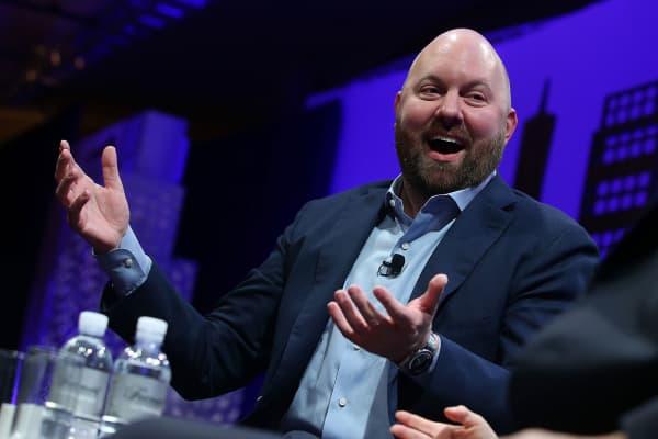 Andreessen Horowitz partner Marc Andreessen